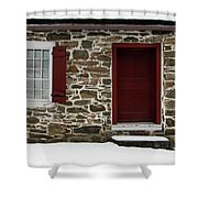 Old Entryway Shower Curtain