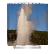 Old Faithful Shower Curtain
