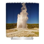 Old Faithful IIi Shower Curtain