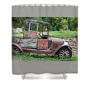 Old Faithful Shower Curtain
