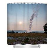 Old Faithful Steam Shower Curtain