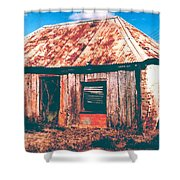 Old Farm House Shower Curtain