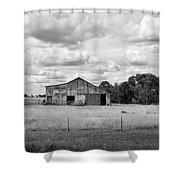 Old Farm Scene Shower Curtain