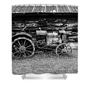Old Farm Tractor Shower Curtain