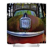 Old Farm Truck Shower Curtain