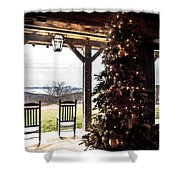 Old Fashion Christmas  Shower Curtain