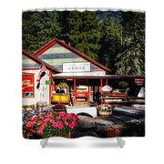 Old Fashioned General Store Shower Curtain