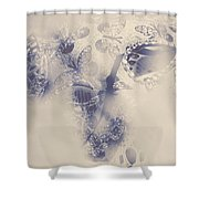 Old-fashioned Venice Mask Shower Curtain