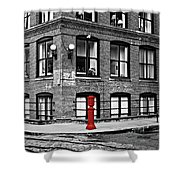 Old Fire Hydrant In Dumbo Brooklyn Shower Curtain