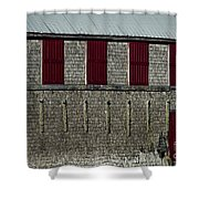 Old Fish House Shower Curtain