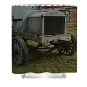 Old Flat Bed Truck Shower Curtain