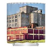 Old Flour Mill Shower Curtain