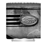 Old Ford 85 Shower Curtain