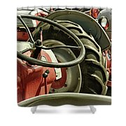 Old Ford Tractors Shower Curtain