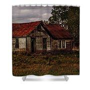 Old Forgotten Farmstead Shower Curtain