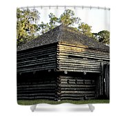 Old Fort Foster Shower Curtain