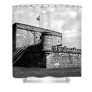 Old Fort Matanzas Shower Curtain