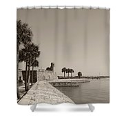 Old Fort, St. Augustine, Florida Shower Curtain
