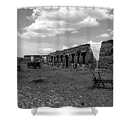 Old Fort Union Shower Curtain
