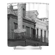 Old French Quarter Restaurant  Shower Curtain