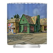 Old Gas Station Route 66 Cuba Mo Dsc05559 Shower Curtain
