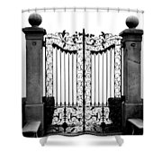 Old Gate Shower Curtain