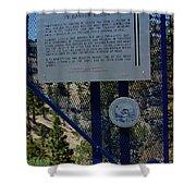 Old Geiger Grade Nevada Shower Curtain