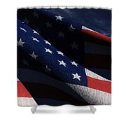 Old Glory 2 Shower Curtain