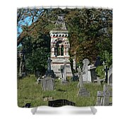 Old Graves Shower Curtain