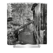 Old Grist Mill Shower Curtain