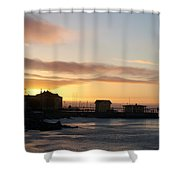 Old Harbour Of Kemi Shower Curtain