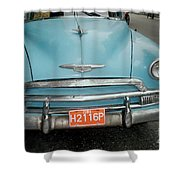 Old Havana Cab Shower Curtain