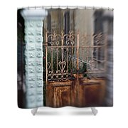 Old Heart Gate 2 Shower Curtain