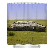 Old Homestead Shower Curtain