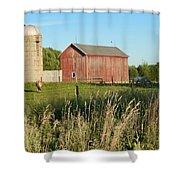 Old Horse Farm Shower Curtain