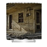 Old House 14 Shower Curtain by Roger Snyder