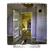 Old House 2 Shower Curtain by Roger Snyder