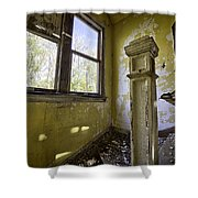 Old House 6 Shower Curtain by Roger Snyder