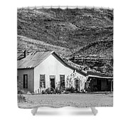 Old House And Foothills Shower Curtain