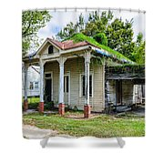 Old House Donaldsonville La-historic Shower Curtain