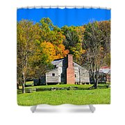 Old House In Cades Cove Tn Shower Curtain