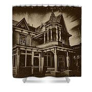 Old House In Cape May Shower Curtain
