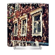 Old House In Moscow Shower Curtain