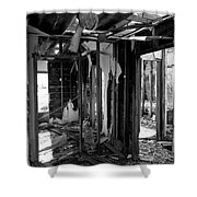 Old House Interior Construction Shower Curtain