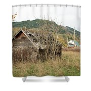 Old House New House Shower Curtain