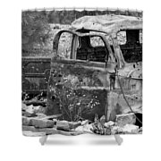Old Jalopy Shower Curtain
