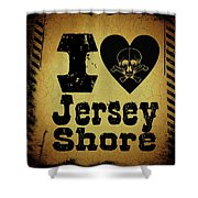 Old Jersey Shore Shower Curtain