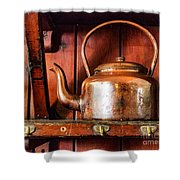 Old Kettle Shower Curtain