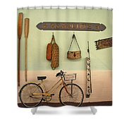 Old Key West Room Shower Curtain