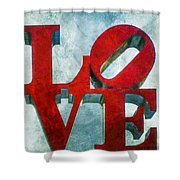 Old Love Shower Curtain